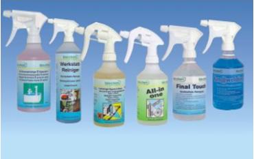 Индустриални и биоразградими препарати за почистване и защита